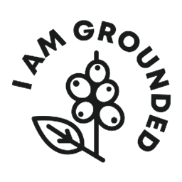 I am grounded - Coffee Fruit Bar logo