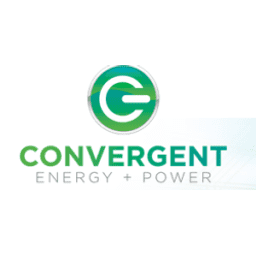 Convergent Energy + Power logo